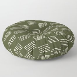 hatches –small doug fir Floor Pillow