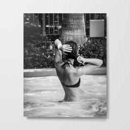 excess water Metal Print