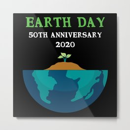 Earth Day Metal Print