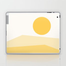 Abstract Landscape 09 Yellow Laptop & iPad Skin