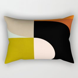 think big 4 shapes geometric Rectangular Pillow