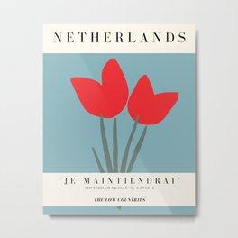 Netherlands Exhibition Metal Print