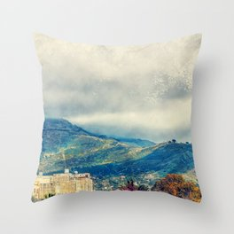Trapani art 15 Sicily Throw Pillow