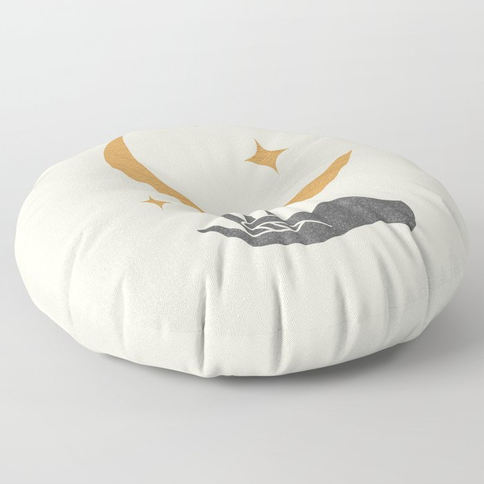 Moonlight Hand Floor Pillow