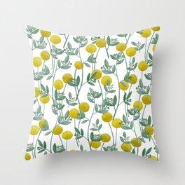 Billy Bob's and Eucalyptus  Throw Pillow