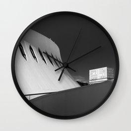 Le Havre | Oscar Niemeyer Wall Clock