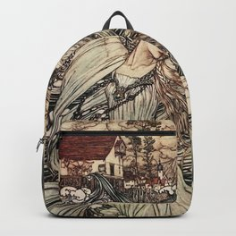 Arthur Rackham - Undine - Norse Mythology Backpack