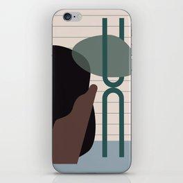 // Shape study #26 iPhone Skin