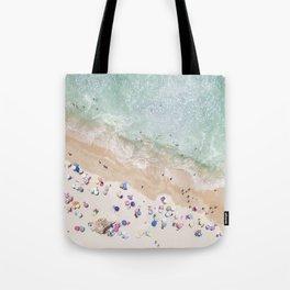 Pastel Beach Tote Bag