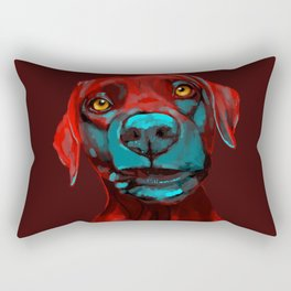 The Dogs: Rufus Rectangular Pillow