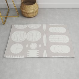 Contemporary mix of vectorial love stories #447 Rug