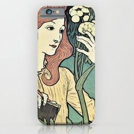 Salon des Cent 1894 Eugene Grasset iPhone Case