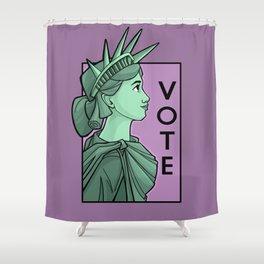 Vote Shower Curtain