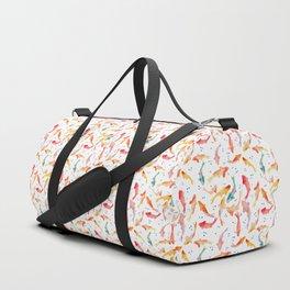 Watercolored Koi Pond Duffle Bag