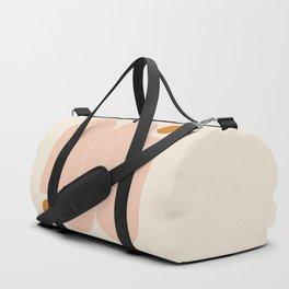 Abstraction_SUN_LINE_ART_Minimalism_002 Duffle Bag