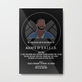 Agents of S.H.I.E.L.D. - Trip Metal Print