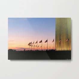 My Country 'tis of Thee Metal Print