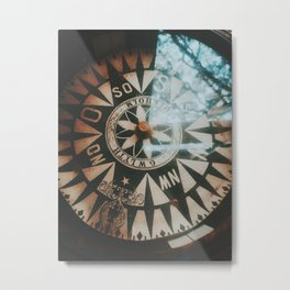 The Compass  Metal Print