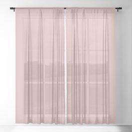 Silver Pink // Pantone 14-1508 TPX Sheer Curtain