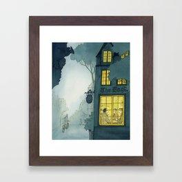 Inklings In Oxford Framed Art Print