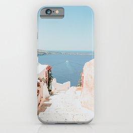 Santorini Oia iPhone Case