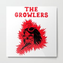 the growlers tongue tour 2020 ngamein Metal Print