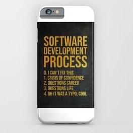 Software Developer iPhone Case
