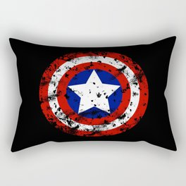 Captain's Shield Rectangular Pillow