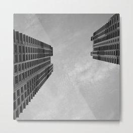 Twin Towers Metal Print