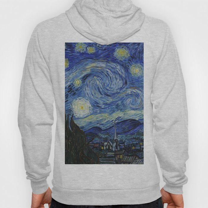 Starry Night by Vincent van Gogh Hoody