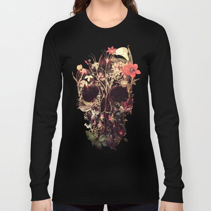 Bloom Skull Langarmshirt