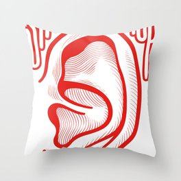 Shutthefuckup Throw Pillow