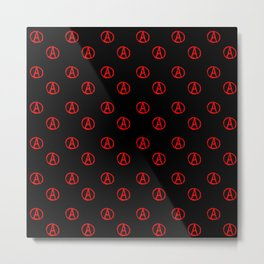 Symbol of anarchy 3 Metal Print