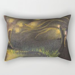 Illuminated Dreams Rectangular Pillow