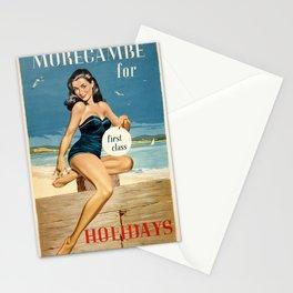 Vintage Travel Morecambe Stationery Cards