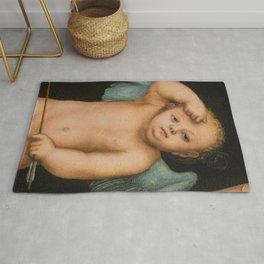 "Lucas Cranach the Elder ""Cupid"" Rug"