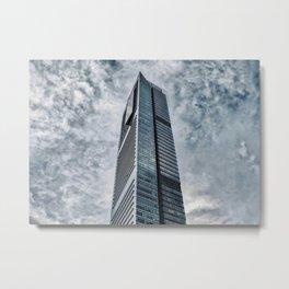 Skyscraper in Shenzhen (China) (2018-6-SHZ2) Metal Print