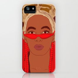 Cancer - Solange Knowles iPhone Case