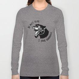 Panther Poop Langarmshirt