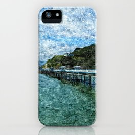 Llandudno Pier in Summer iPhone Case