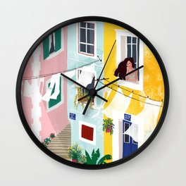 Chillin' Wall Clock