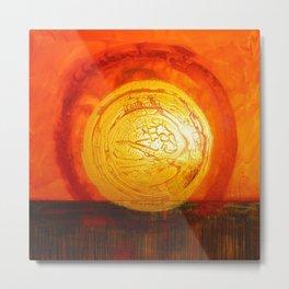 Home/Sun/Solitude Metal Print