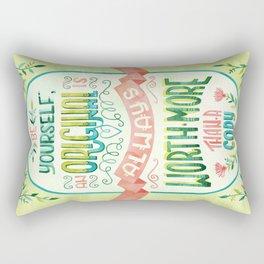 Be An Original Rectangular Pillow