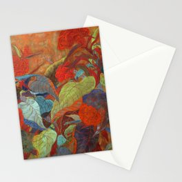 flower3【Japanese painting】 Stationery Cards