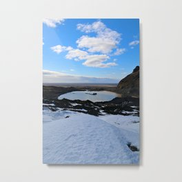 The Lake of an Old Glacier Metal Print