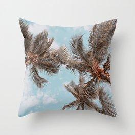palm trees xxi Throw Pillow