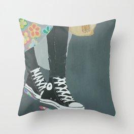 70's Vibe Throw Pillow