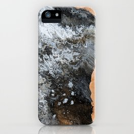Marble & Copper 2 iPhone Case