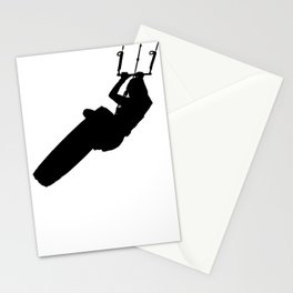 Time To Wake Up Kiteboarder Silhouette Stationery Cards