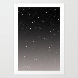 Keep On Shining - Starry Sky Art Print